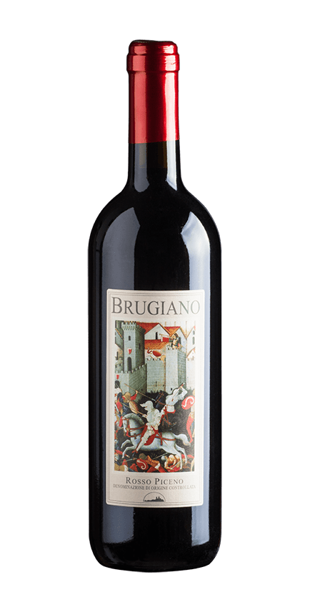 bottle wine brugiano