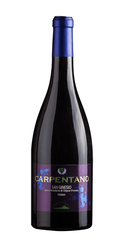 bottle wine carpentano